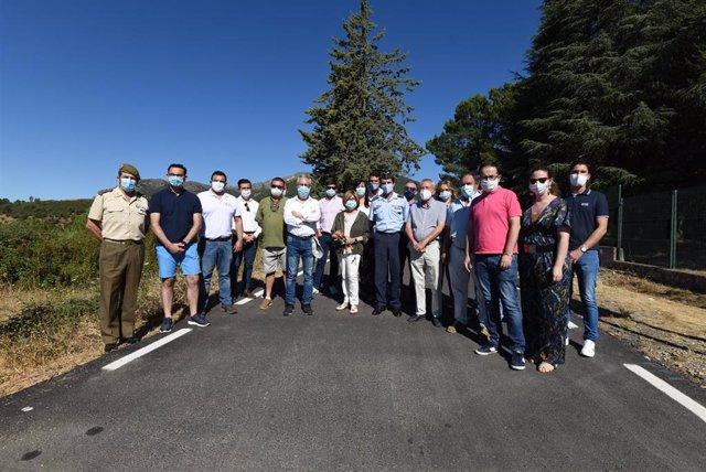 Inauguración de la mejora del acceso al Pico Villuercas