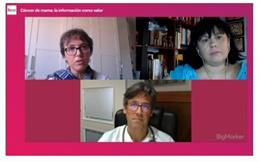 """Expertos destacan la importancia de la """"calidez y empatía"""" para traslar información a las pacientes con cáncer de mama"""