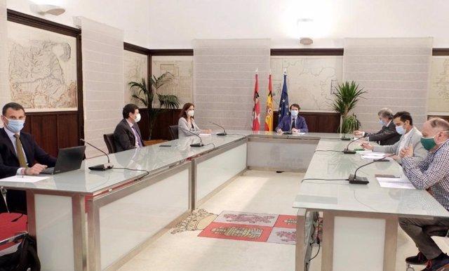 Reunión Consejo Diálogo Social.