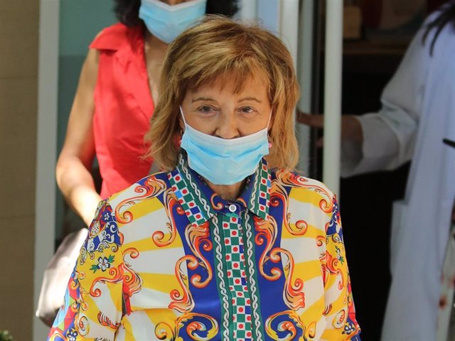 María Teresa Campos se realiza el test de covid-19