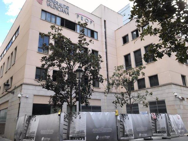 El TSJCV se trasladará a mediados de mayo a la antigua sede de Gobernación hasta que acabe la reforma de la sede actual