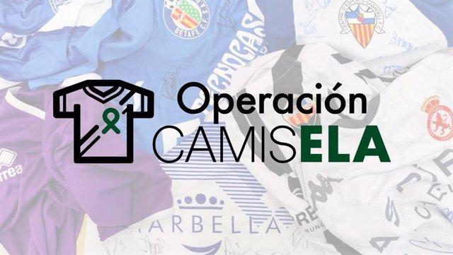 Fútbol.- Clubes españoles donarán camisetas firmadas para combatir la ELA