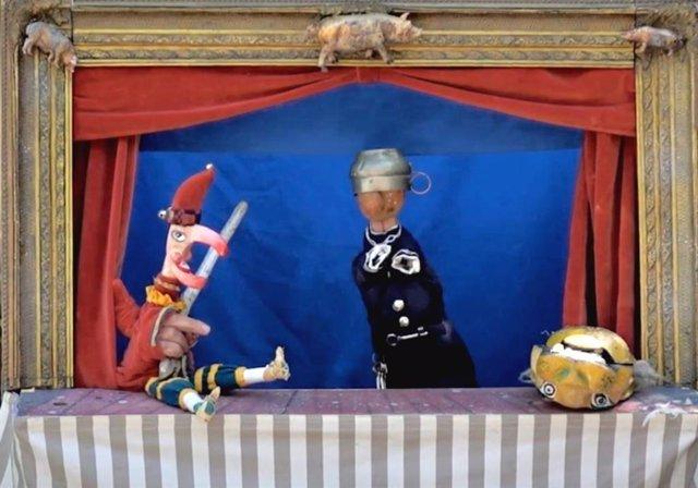 Teatro de títeres de Siesta Teatro en el Museo Picasso Málaga