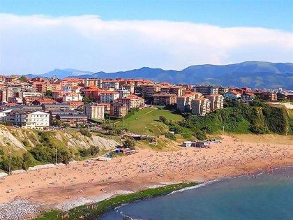 Las duchas y fuentes de las playas de Getxo entrarán en funcionamiento este fin de semana
