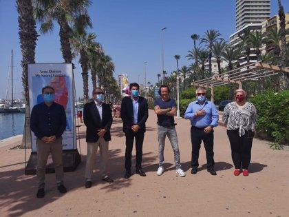 'My Secret Garden' ya se expone en el Muelle 2 del Puerto de Alicante