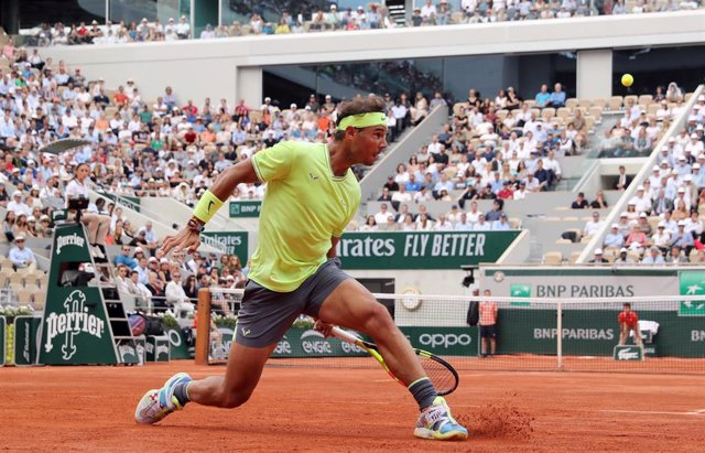 Rafa Nadal durante Roland Garros 2019