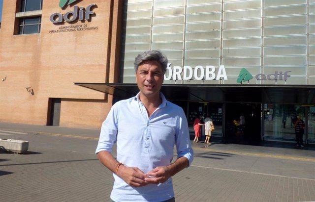 El portavoz de Transportes, Movilidad y Vivienda del PP en el Congreso de los Diputados, el cordobés Andrés Lorite.