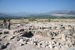 Yacimiento arqueológico de Puente Tablas, en Jaén.