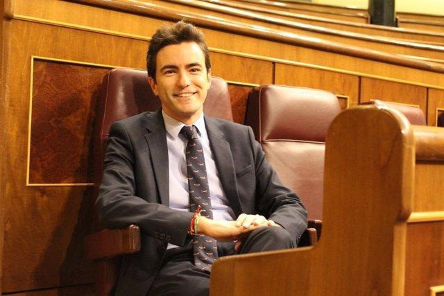 El diputado por Cantabria del PSOE Pedro Casares