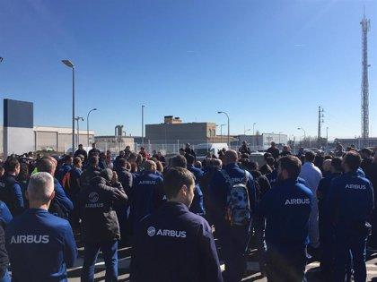 UGT C-LM rechaza los despidos en Airbus y baraja un calendario de movilizaciones para salvar el empleo