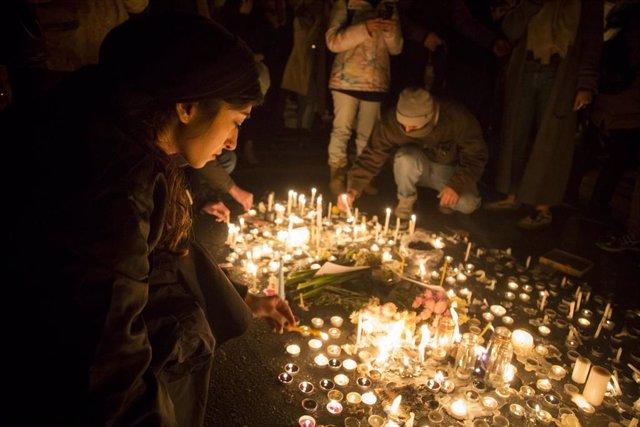 Vigilia por las víctimas del avión ucraniano derribado en Teherán