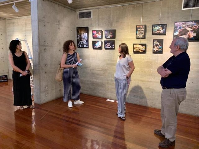Presentación de la exposición 'Heroicas'.