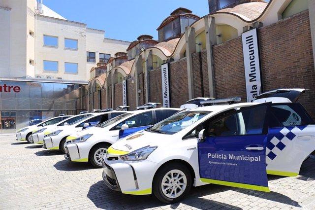 Vehiculos de la Policia Municipal de Terrassa