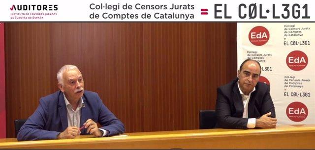 El presidente del Instituto de Censores Jurados de Cuentas de España (ICJCE),Ferrán Rodríguez,