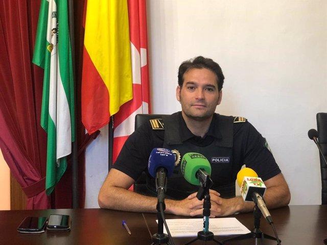 Félix Núñez, subinspector de la Policía Local de La Algaba