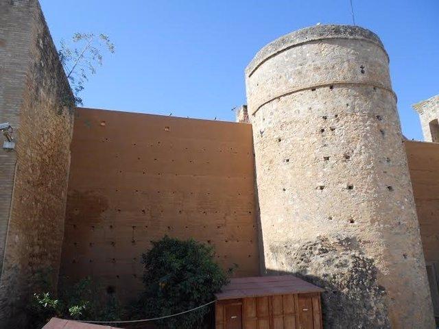 Castillo de Niebla, en Huelva.