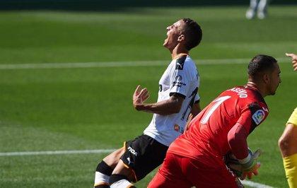 Rodrigo Moreno se rompe el ligamento externo de la rodilla derecha y se despide de la temporada