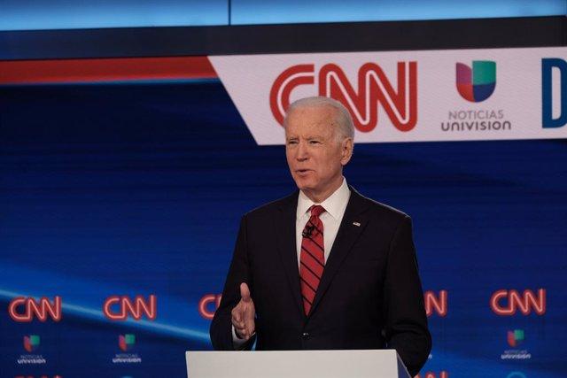 EEUU.- Biden mantiene una ventaja de 12 puntos sobre Trump a cuatro meses de las