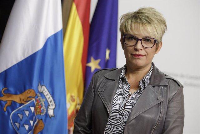 La consejera de Economía del Gobierno de Canarias, Elena Máñez