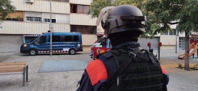 Los Mossos d'Esquadra han puesto en marcha este jueves un dispositivo con 29 registros en seis municipios de Catalunya para desarticular un grupo criminal al que se le atribuyen varios delitos violentos y contra la salud pública.