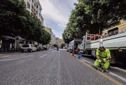 El Ayuntamiento de Madrid convertirá en permanentes los tramos de carril bus provisionales que sea posible