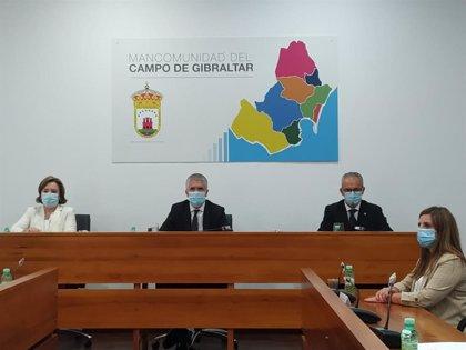 Marlaska presenta el Plan del Campo de Gibraltar 2020-21 a Mancomunidad y alcaldes con 48,2 millones de inversión