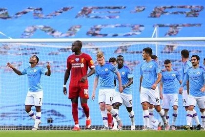 El City acribilla al campeón Liverpool