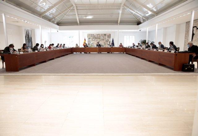 Celebración del Consejo de Ministros en La Moncloa, que  aprobará un Real Decreto que recogerá el nuevo Plan Renove, que dispondrá de 250 millones de euros para la renovación del parque automovilístico español, en Madrid (España), a 30 de junio de 2020.