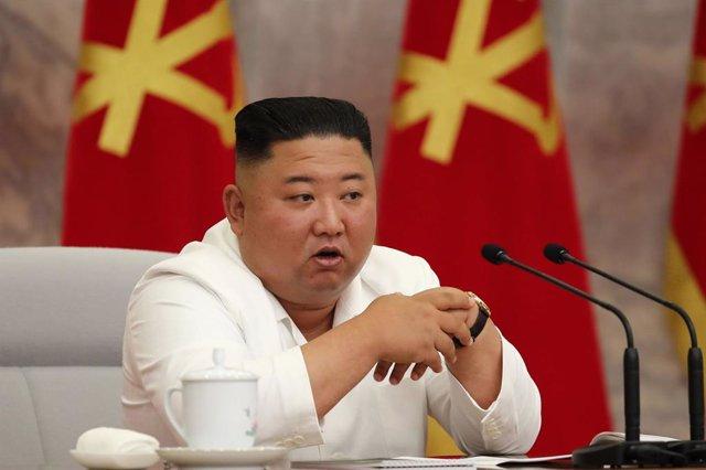 """Coronavirus.- Kim Jong Un destaca el """"resplandeciente éxito"""" de la respuesta de"""