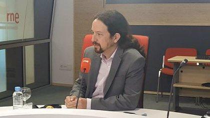 Iglesias descarta ser imputado en el caso Dina, dice que dio en buenas condiciones la tarjeta y que Sánchez le apoya