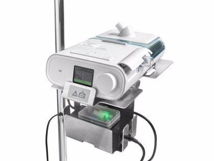 Philips desarrolla un ventilador para unidades de cuidados respiratorios intermedios