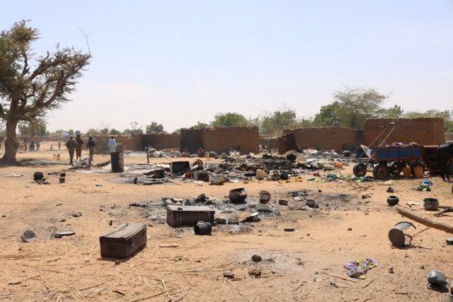 Ataque en Ogossagou, en el centro de Malí