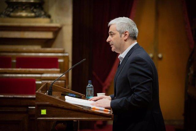 El diputat de Cs al Parlament José María Cano