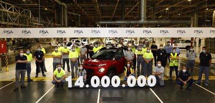 La planta de PSA en Figueruelas alcanza los 14 millones de unidades producidas