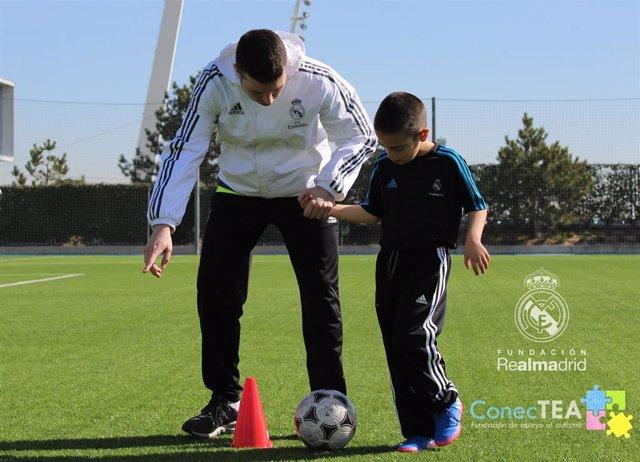 La Fundación ConecTEA, nuevo colaborador de la Fundación Real Madrid