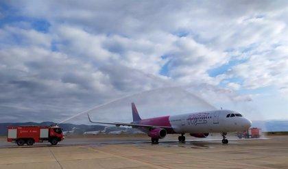 El aeropuerto de Castellón estrena una nueva ruta a Viena operada por Wizz Air con dos frecuencias semanales