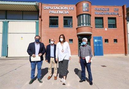 Diputación de Palencia dedica a infraestructuras 3 de cada 10 euros de Acción Territorial en un año marcado por la COVID