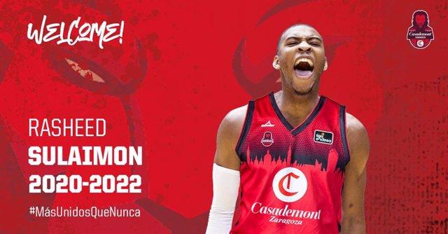 Rasheed Sulaimon ficha por el Casademont Zaragoza