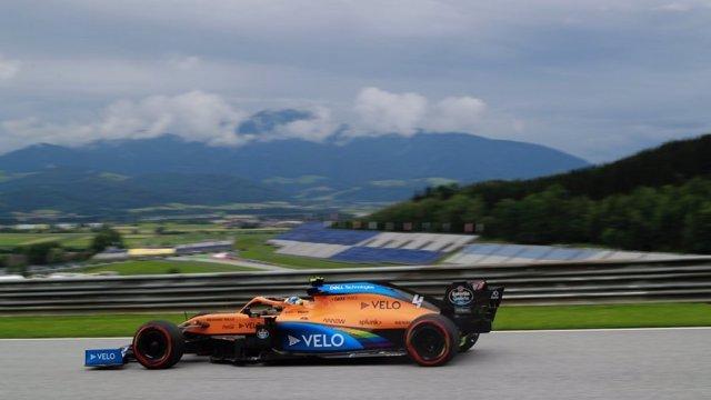 Carlos Sainz en el GP Austria