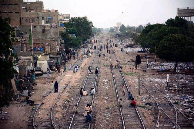Ferrocarriles en Pakistán
