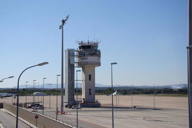 Torre de control  Aeropuerto de Girona