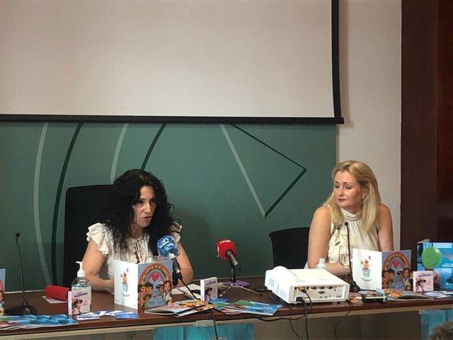 Rocío Ruiz en rueda de prensa