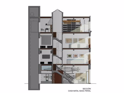 El proyecto de rehabilitación de la Casa de Isaac Peral ayudará a conocer mejor la historia del inventor cartagenero