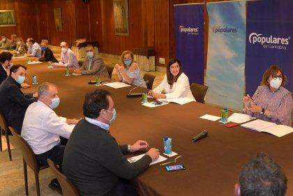 """Buruaga cree que PP se ha consolidado como la """"única alternativa"""" tras la crisis del COVID-19"""