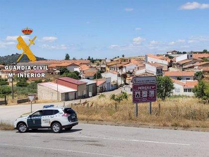 Detenidos por un violento robo en 2017 a una sucursal bancaria en Pereña (Salamanca)