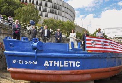 Athletic e Itsasmuseum Bilbao recuperarán la gabarra que podría navegar en diez semanas