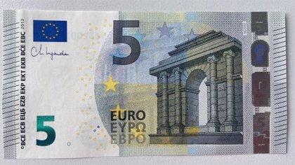 Los billetes de euro firmados por Lagarde comenzarán a circular la semana que viene