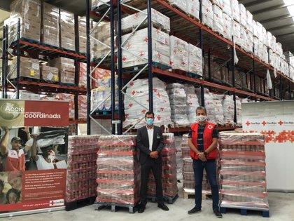 Mercadona dona 28.200 unidades de lentejas cocidas a Creu Roja Catalunya