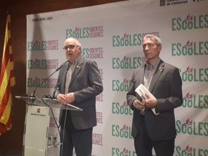 Catalunya prepara un curso con entradas sin aglomeraciones y comedor más reducido