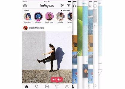 Instagram prueba a mostrar todas las historias en una página a pantalla completa